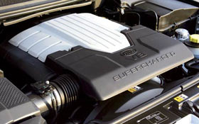 Land Rover Supercharger