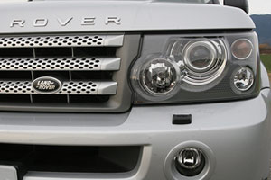 Land Rover front section